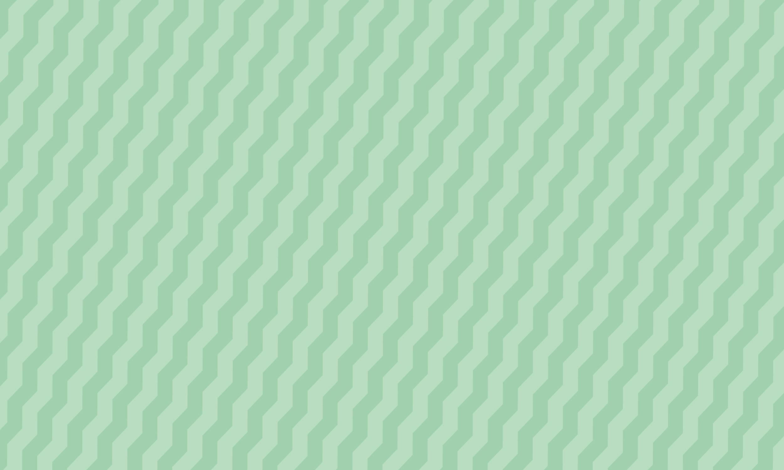 Zig zag mint pattern