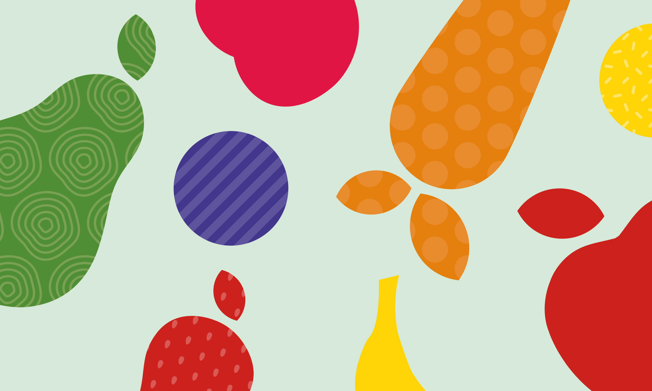 Colourful fruit pattern
