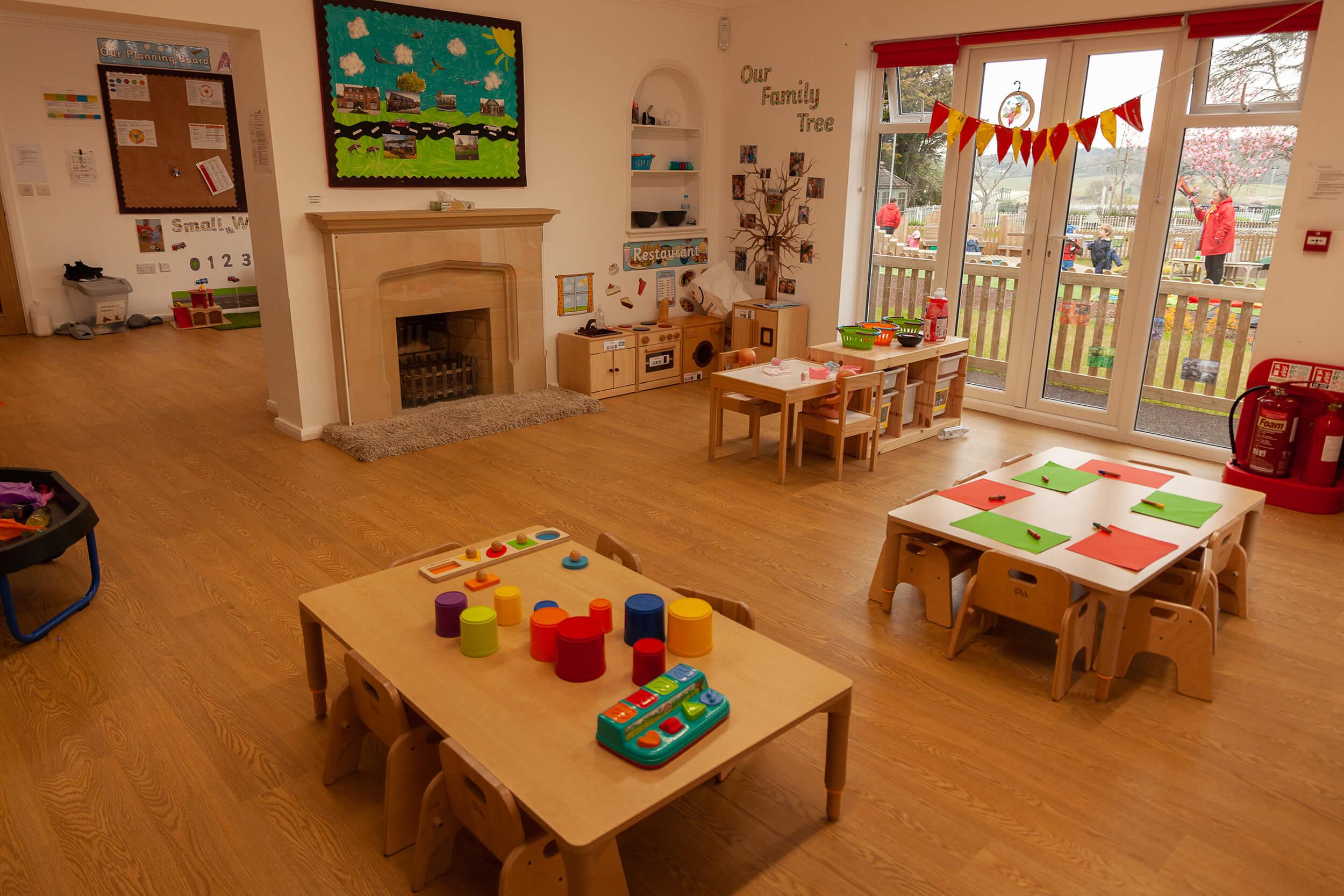 Nursery House interior