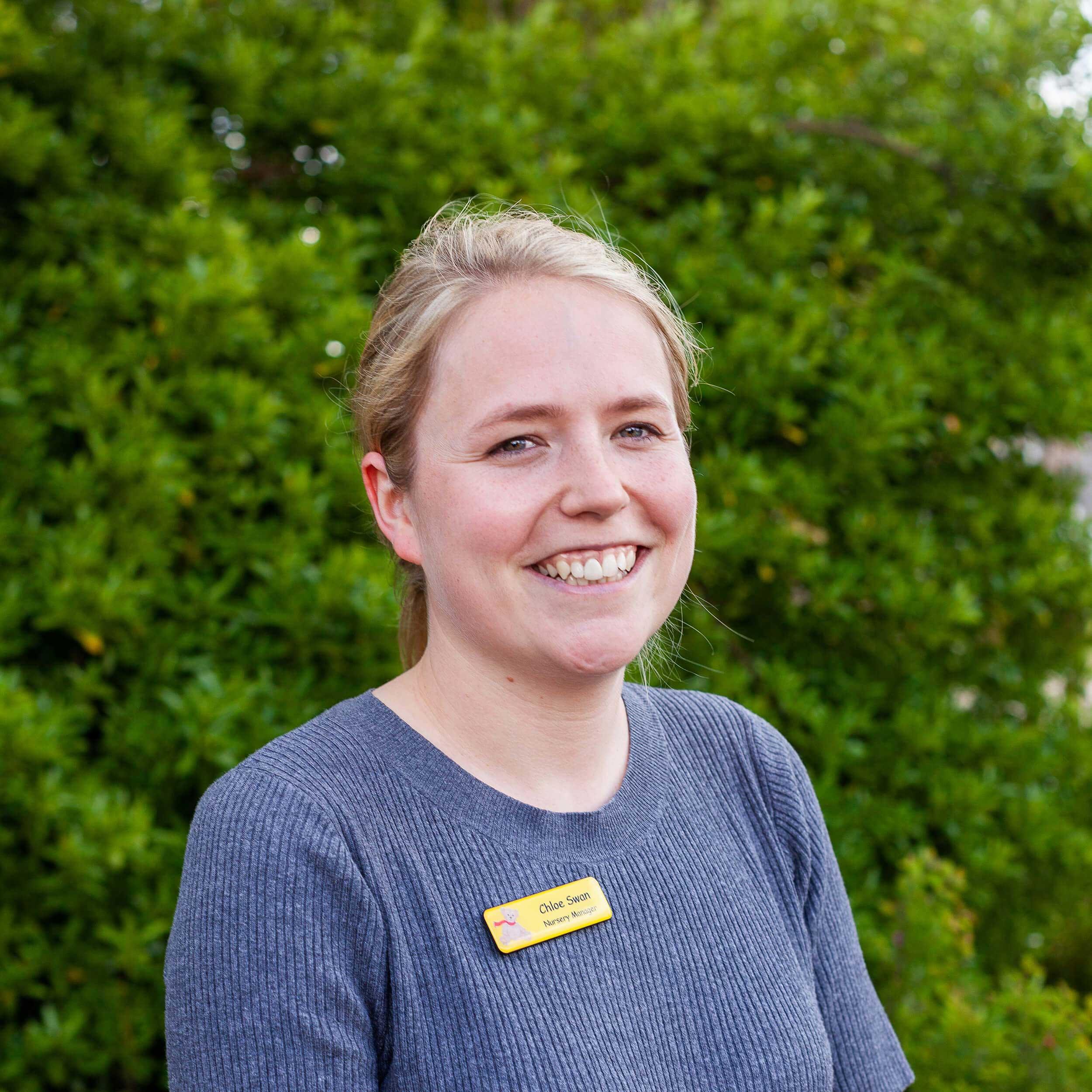 Chloe Swan - Nursery Manager of the Manor House (Ruxley)