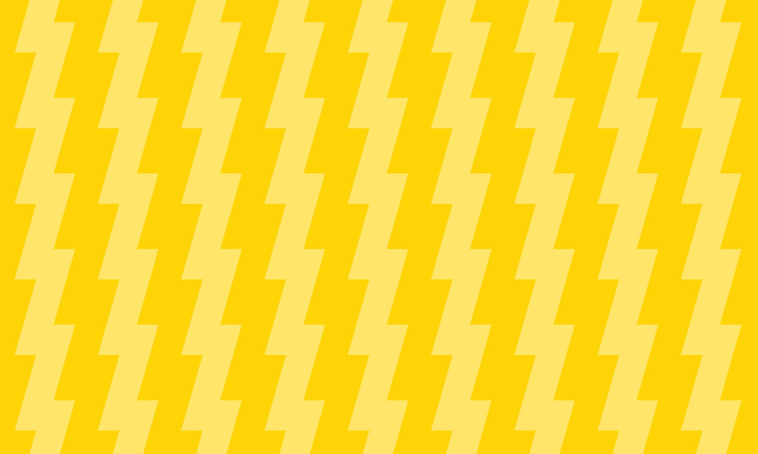 Yellow lightning pattern