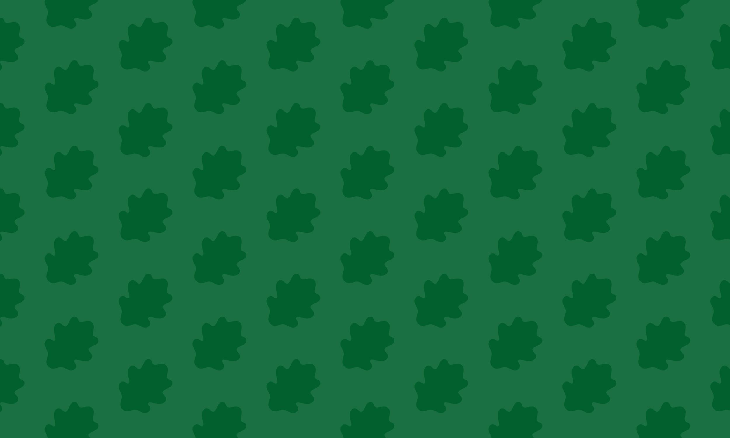 Green Oak Pattern Large