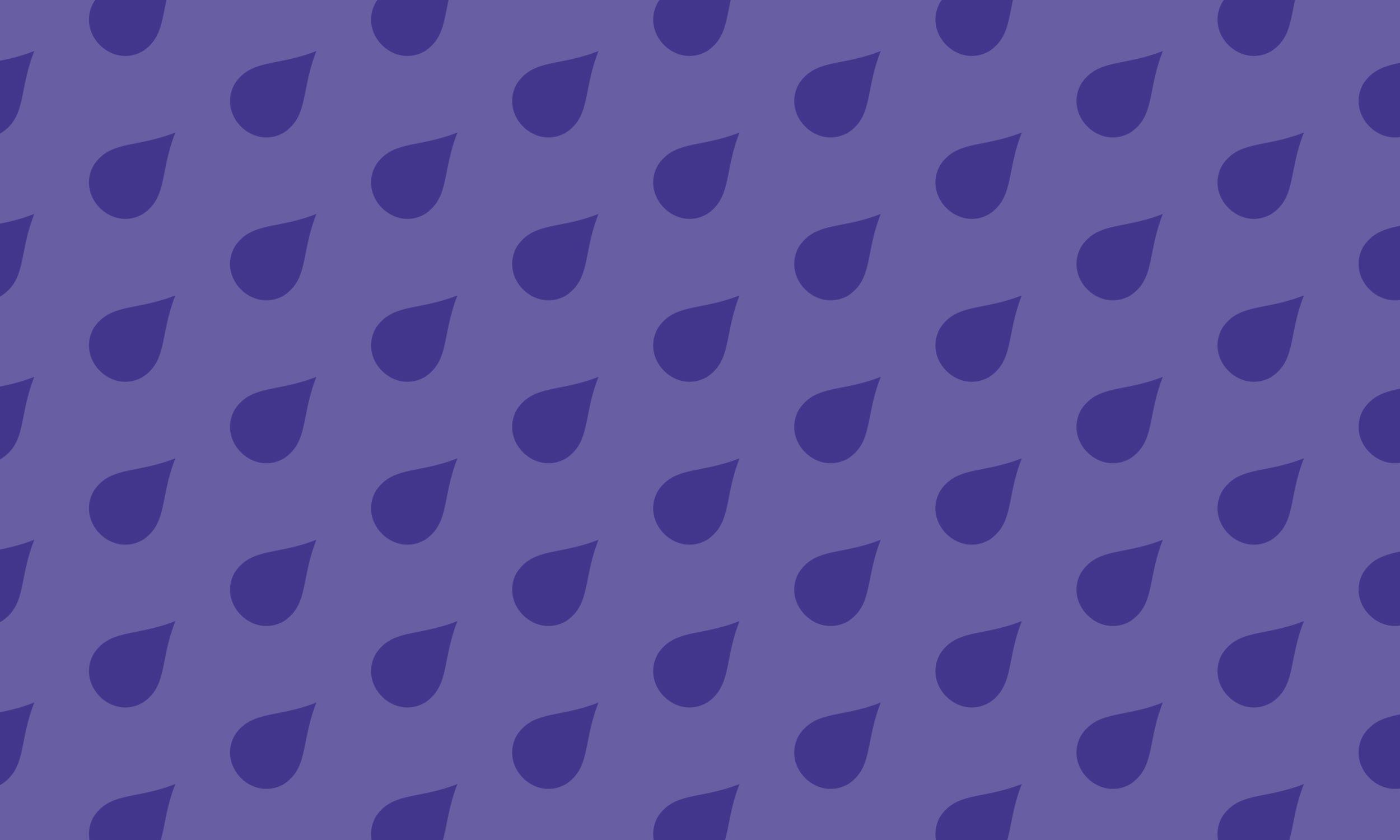 Blackcurrant rain pattern