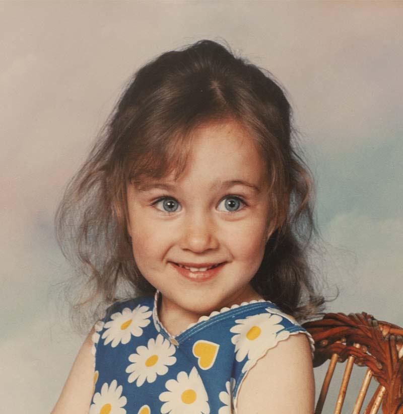 Chloe Hedges baby photo