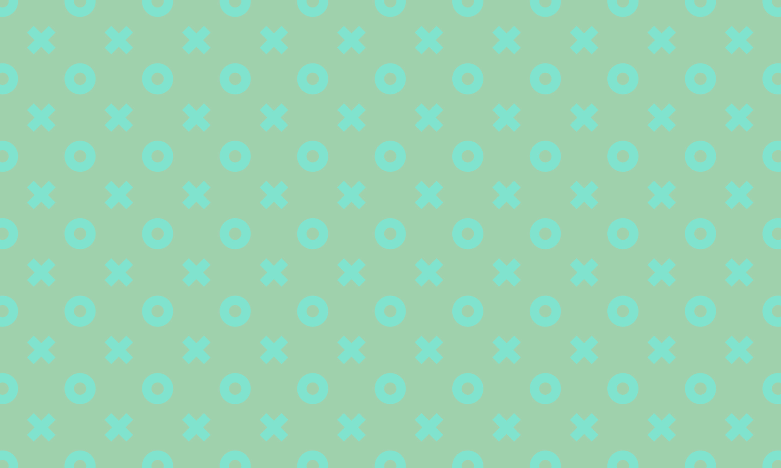 XO mint pattern
