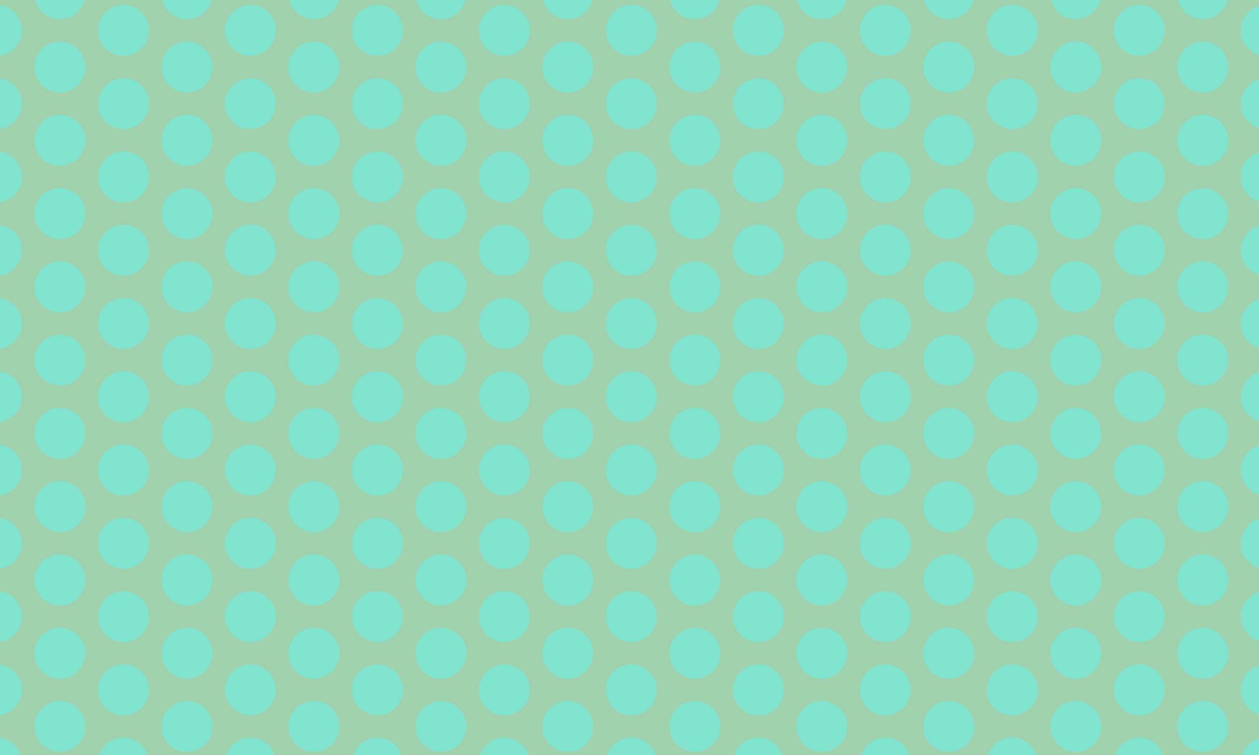 Circle mint pattern