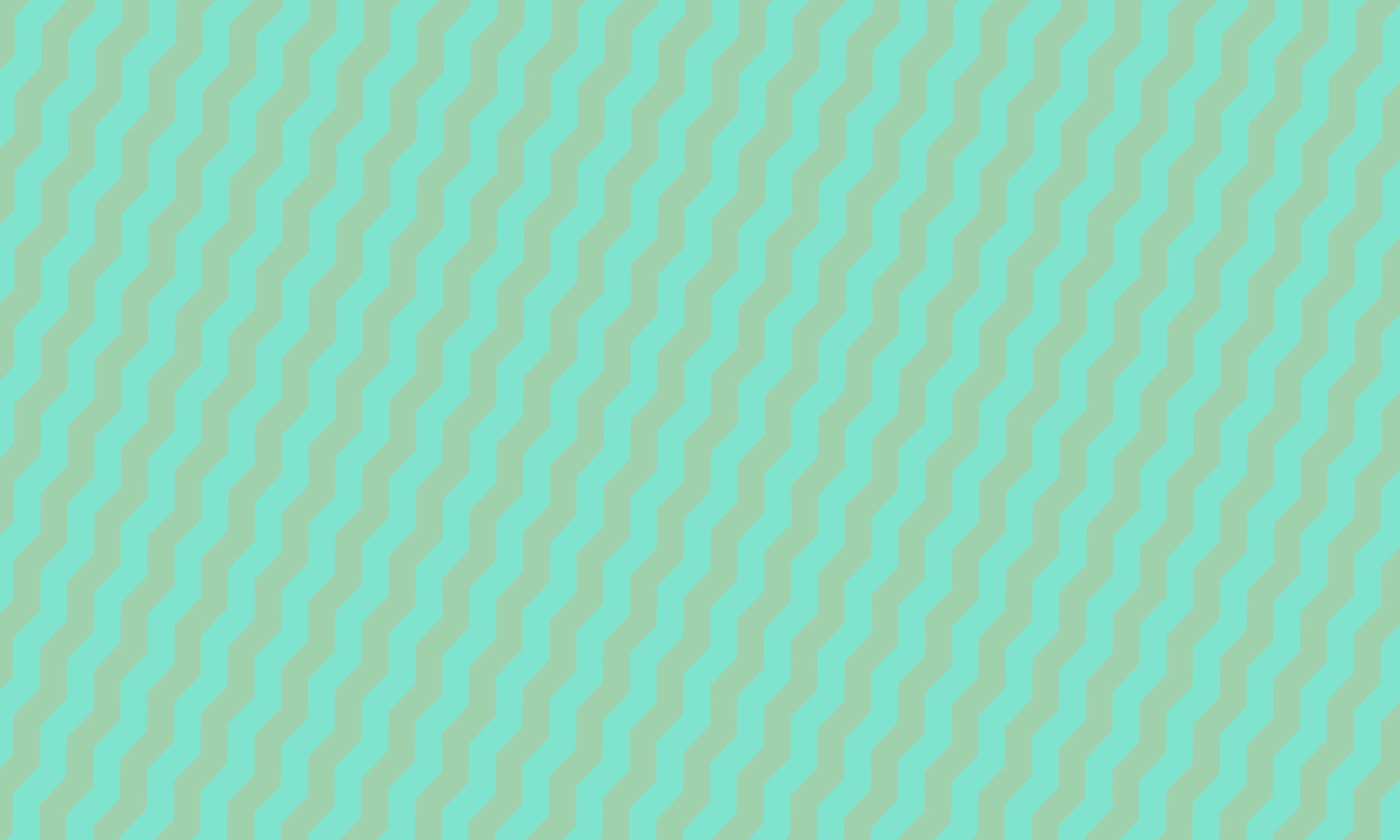 diagonal mint pattern