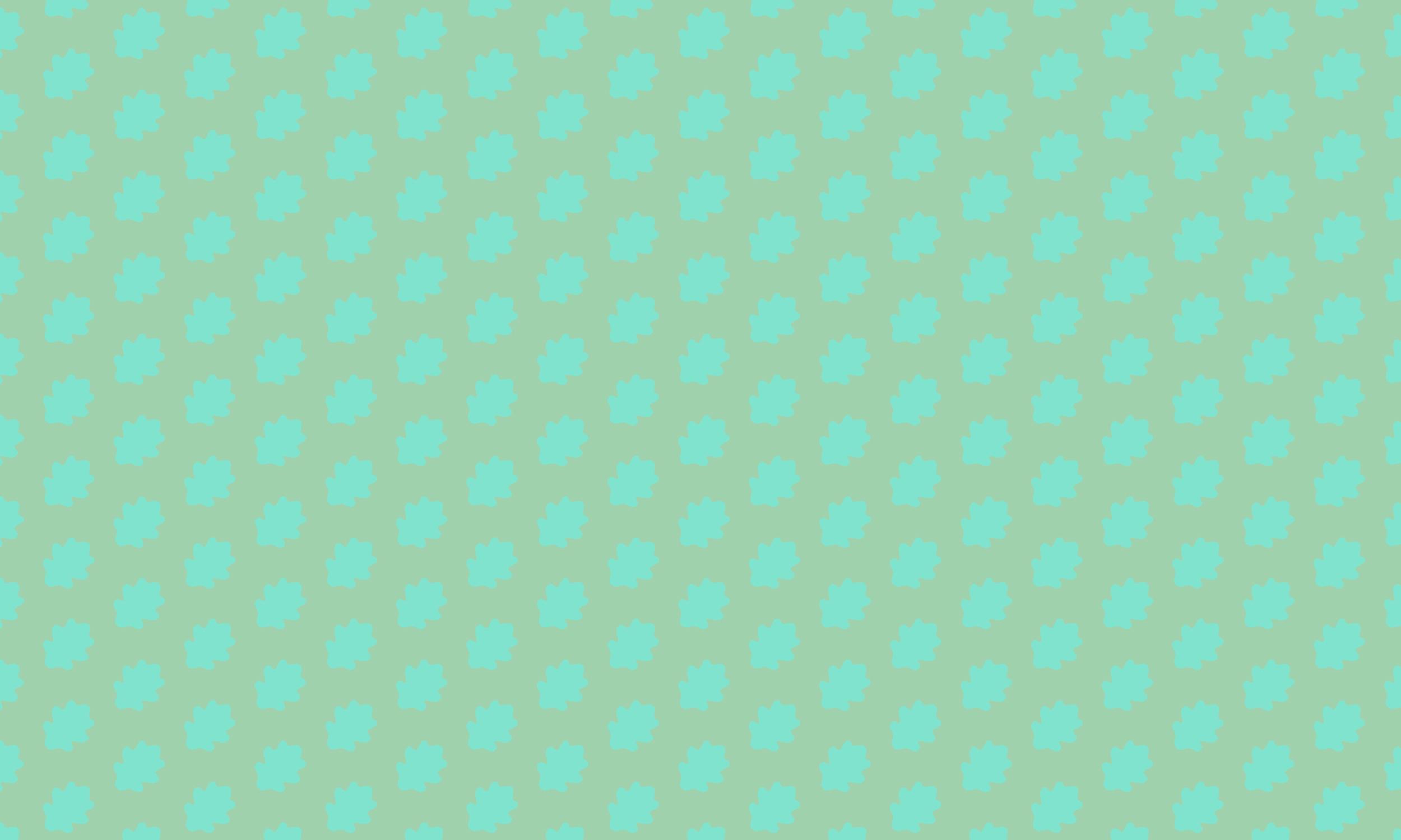 Mint oak pattern