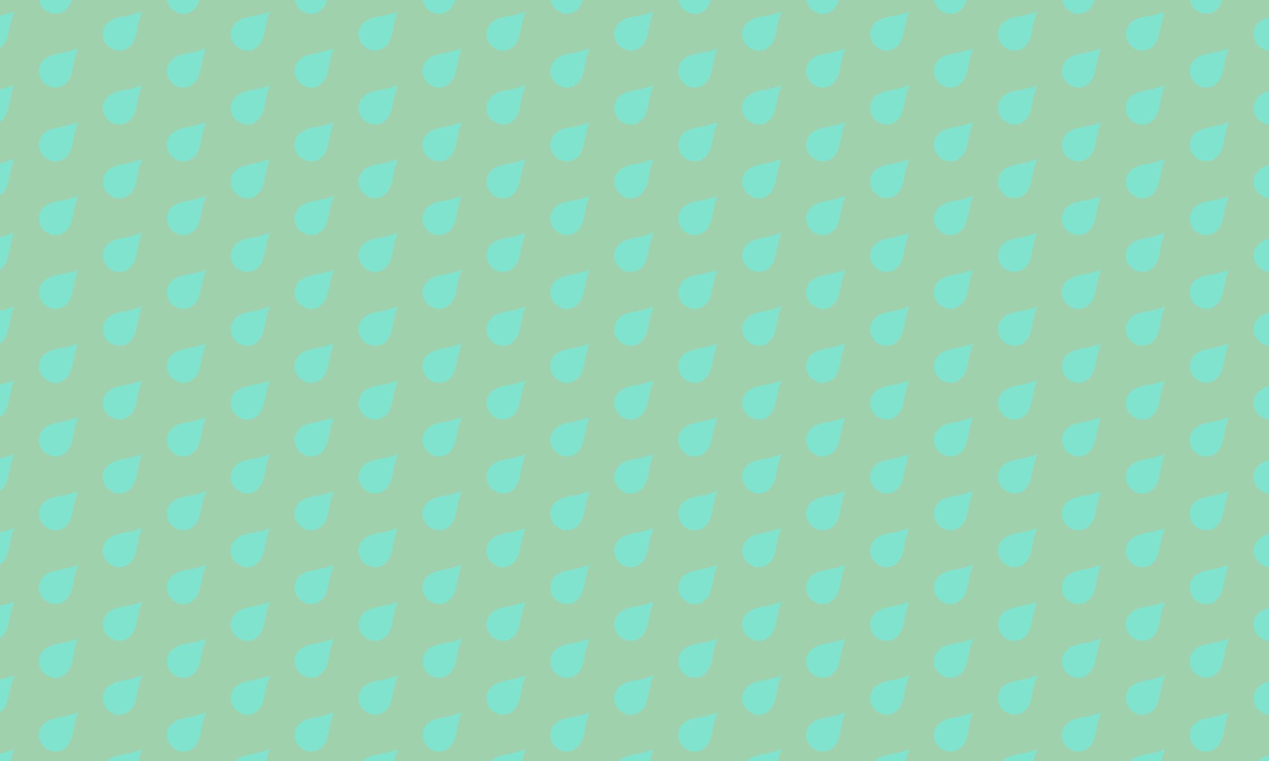 mint rain pattern