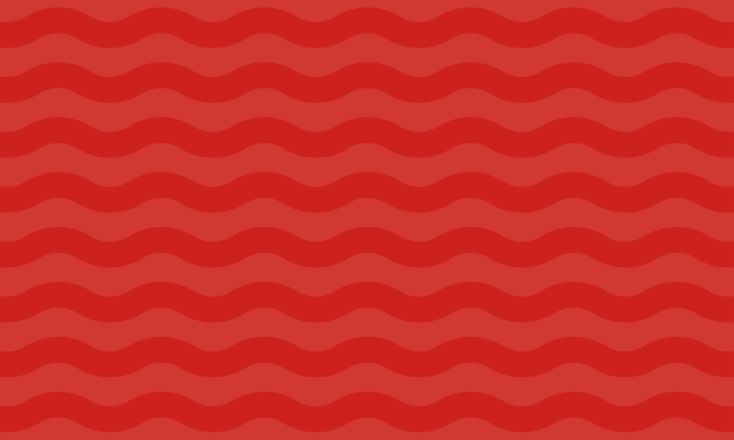 Red waves pattern